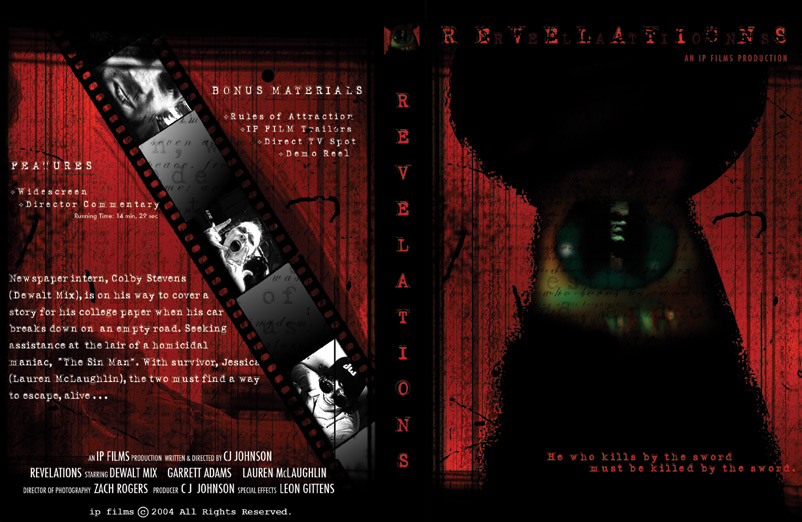 Revelations DVD Cover done in Photoshop